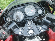 Photoset Of A Sports Motorcycl...