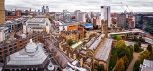 Aerial View Of Manchester In T...