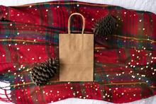 Plain Blank Brown Paper Bag (f...