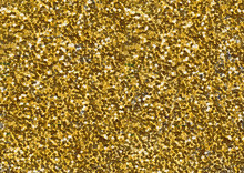 Gold Bright Glitter Fabric Tex...