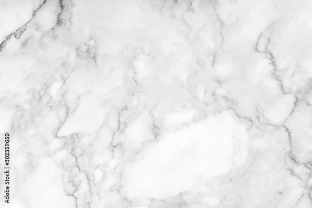 Fototapeta White marble texture and background. - obraz na płótnie