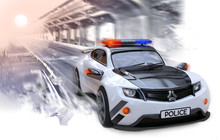 Original Design Police Car Dri...