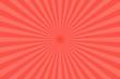 Leinwandbild Motiv Red pastel colors rays abstract background.