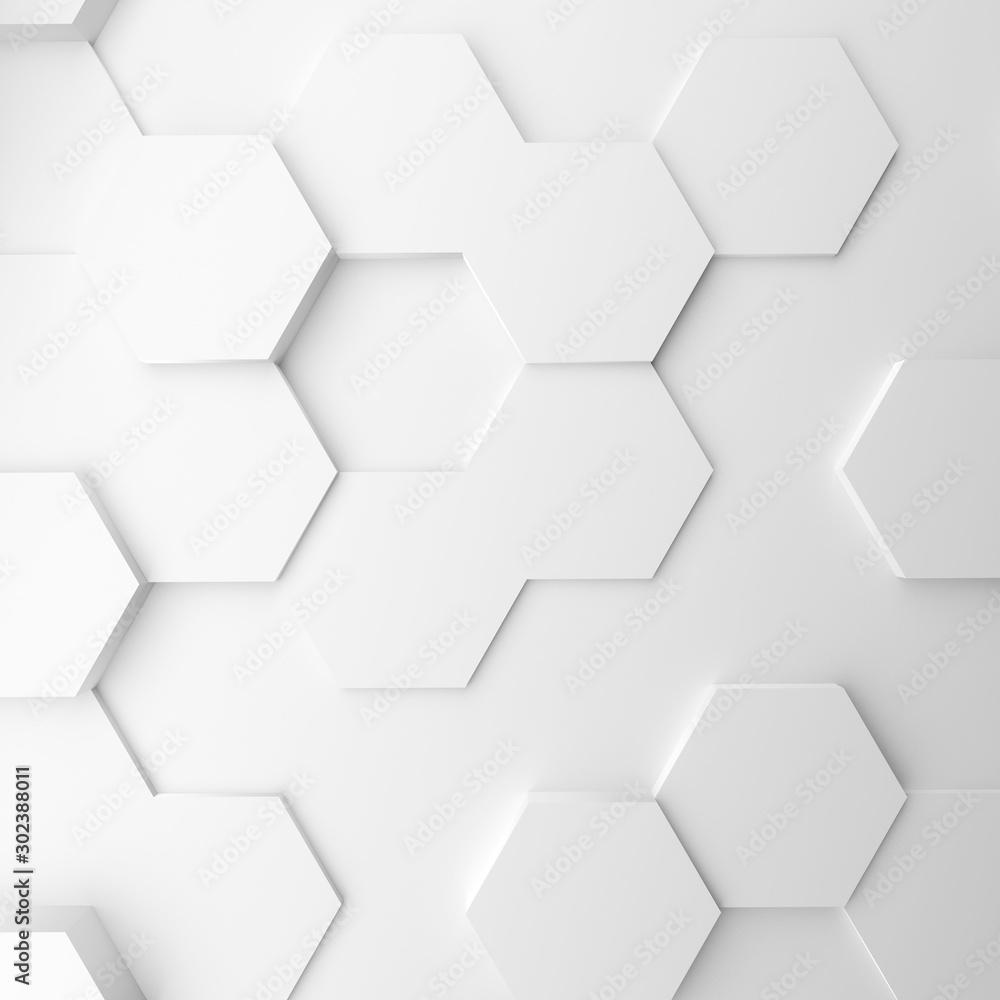 Fototapety, obrazy: Abstract modern homeycomb background