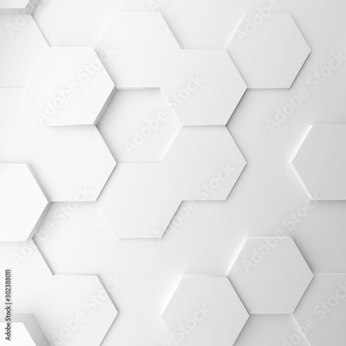 Fototapety, obrazy: Abstract modern homeycomb background
