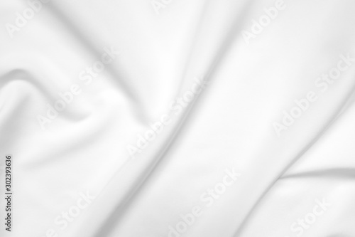 Cuadros en Lienzo  Abstract white fabric texture background