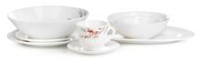 White Ceramics Tableware Set I...