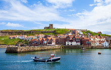 View Of Whitby. North Yorkshir...