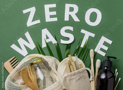 Obraz na plátne  Zero waste concept
