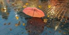 Autumn Rainy Evening In Old T...