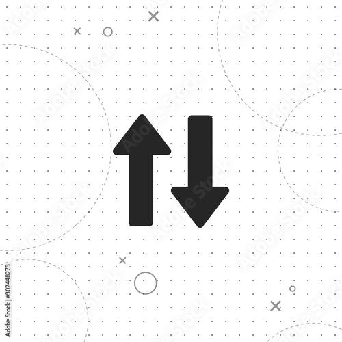 Fototapeta Redirect, vector best flat icon