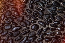 Texture With Big Black Stones