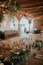 Wedding Reception Banquet In W...