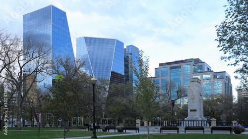 Fototapeta Regina, Canada city center scene obraz