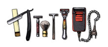 Evolution Of The Shaving Acces...