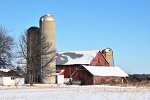 Farm Buildings And Silos