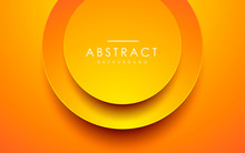Abstract 3D Circle Papercut La...