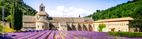 Canvas Prints Lavender Abbey of Senanque