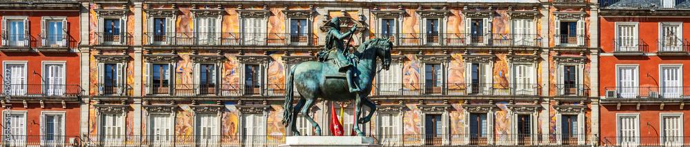 Fototapeta Plaza Mayor, Madrid, Spain