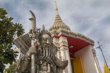 Świątynia, Tajlandia, Figury