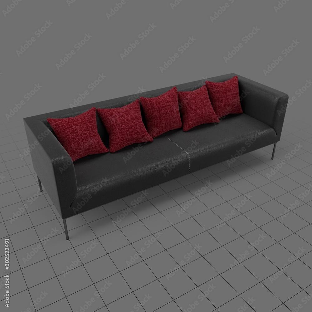 Fototapeta Modern sofa