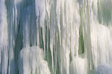 Background Icicles Of Ice In T...