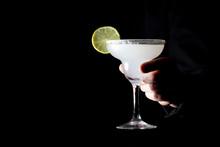 Bartender Serves A Classic Mar...