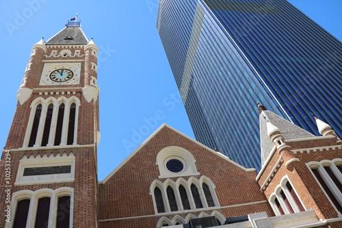 The Church Red brick building in Perth City, Western Australia