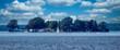 canvas print picture - Panorama der Insel Wilhelmstein im Steinhuder Meer