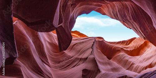 Poster Arizona Abstract background canyon Antelope near Page, Arizona