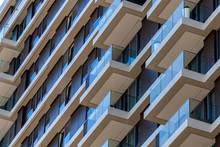 Modern High Rise Apartment Buildings