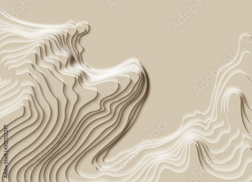 Fototapety na wymiar   mountain-hiking-map-line-of-topography-vector-abstract-topographic-map-concept-with-space