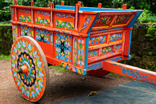 Typical Wagon From Costa Rica