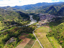 Aerial View Of Orosi Valley, Costa Rica