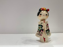 Japanese Doll With Beautiful Dress