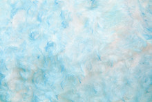 Blue Cotton Wool Texture For B...