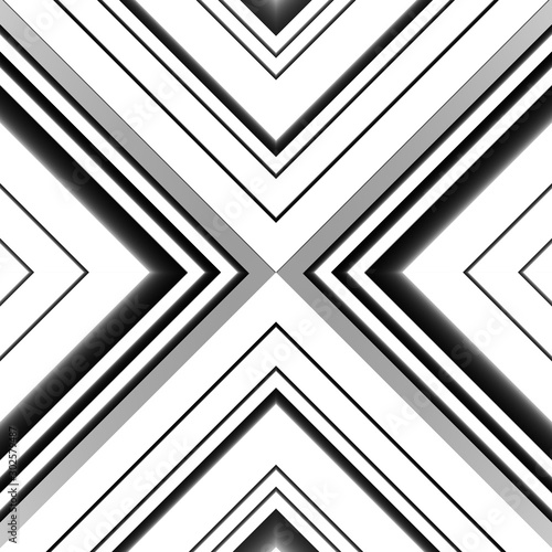 Abstract background with stripes. Various lines. Triangle geometry shapes. 3D rendering