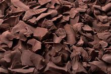 Pieces Of Organic Chocolate, Sweet Dessert Food