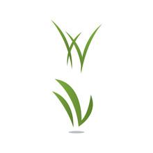 Grass Remover Lawn Logo Design Template Vector Illustration