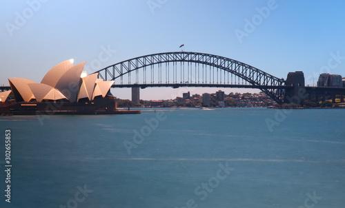 sydney harbour bridge in australia © Elias