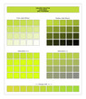 COLORS PALETTE / Love Bird / Spring and Summer 2020 Colors Palette for Textile Prints and Digital Use. Fashion Trend Colors Guide with Tints and Shades Swatches, Compatible with Design Softwares.