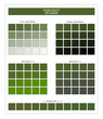 COLORS PALETTE / Twist of Lime / Spring and Summer 2020 Colors Palette for Textile Prints and Digital Use. Fashion Trend Colors Guide with Tints and Shades Swatches, Compatible with Design Softwares.