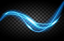 Light Streak Fast Effect. Abst...