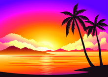 Vector Image, Background Beaut...