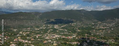Photo Alatri Italy. Panoramic view.