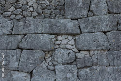 Photo Alatri Italy. Stone wall.