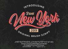 Bronx. New York City Print. Ha...