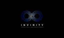 Infinite Line Logo - Infinity Vector