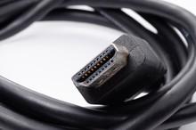 HDMI Cable Plug Close Up Isola...