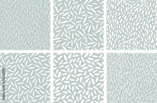 Fototapeta Rice seamless pattern obraz